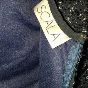 Scala Dresses - 🎉7XHP🎉SCALA MINI BEADED DRESS
